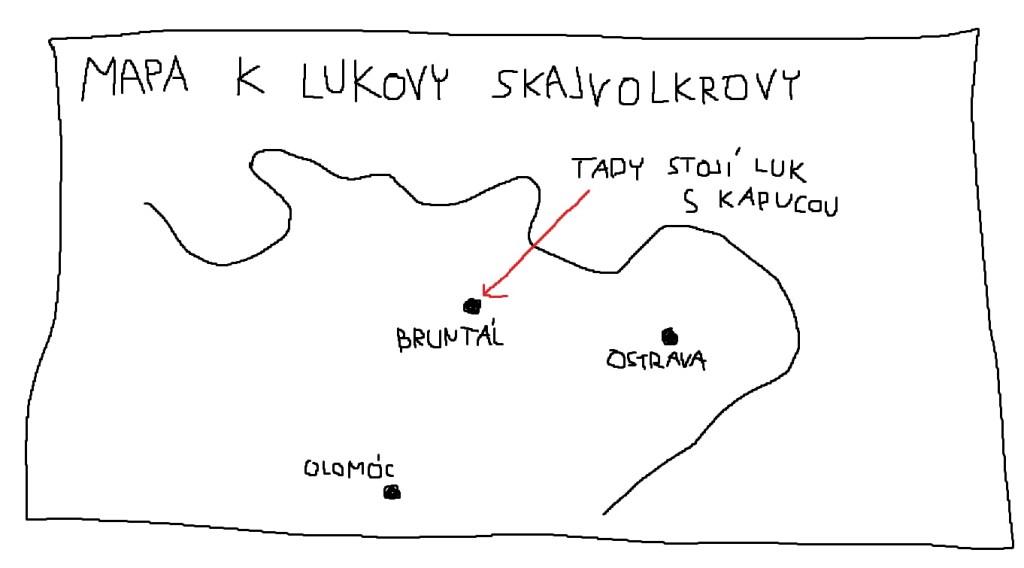 mapa k lukovy